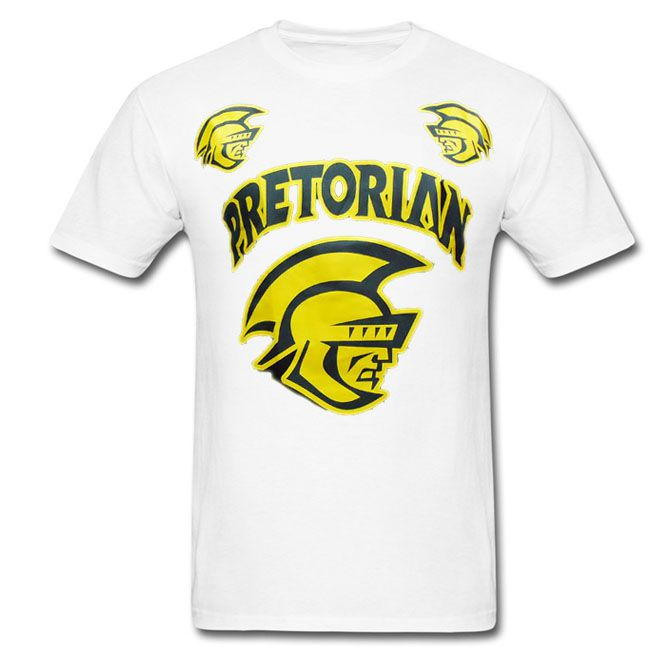 Camisa/Camiseta - Spartan - Branco - Pretorian .