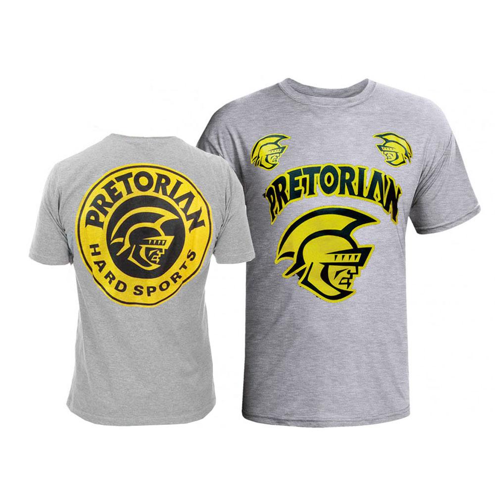 Camisa/Camiseta - Spartan - Cinza - Pretorian .