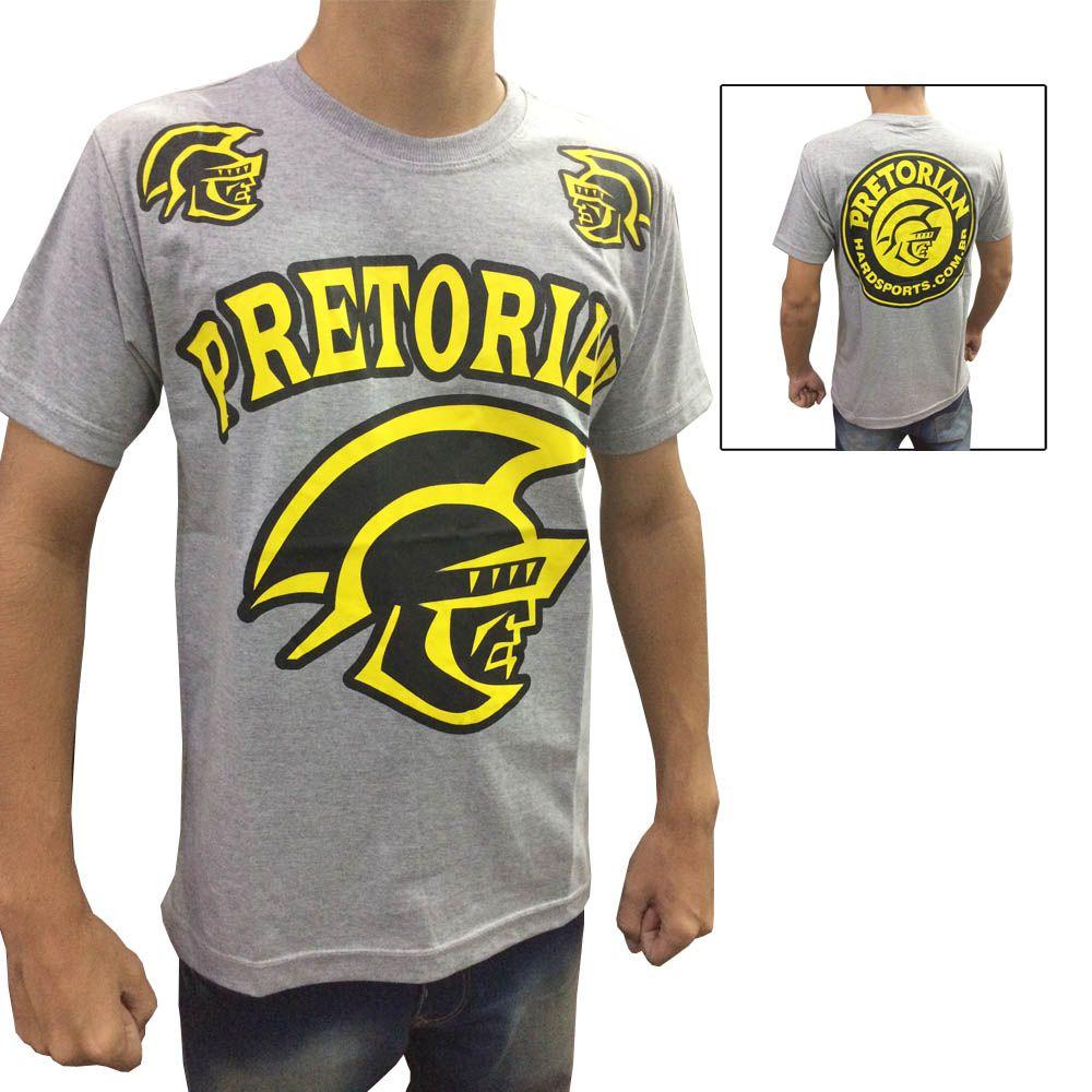 Camisa Camiseta - Spartan - Cinza - Pretorian -