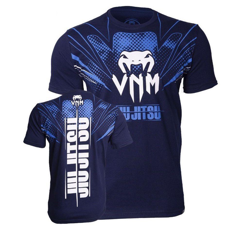 Camisa Camiseta Storm Jiu Jitsu - Azul - Venum -