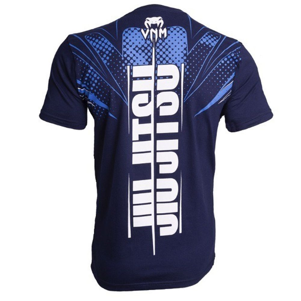 456435283ecbd ... Camisa Camiseta Storm Jiu Jitsu - Azul - Venum - - Loja do Competidor  ...