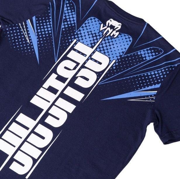 Camisa Camiseta Storm Jiu Jitsu - Azul - Venum -  - Loja do Competidor