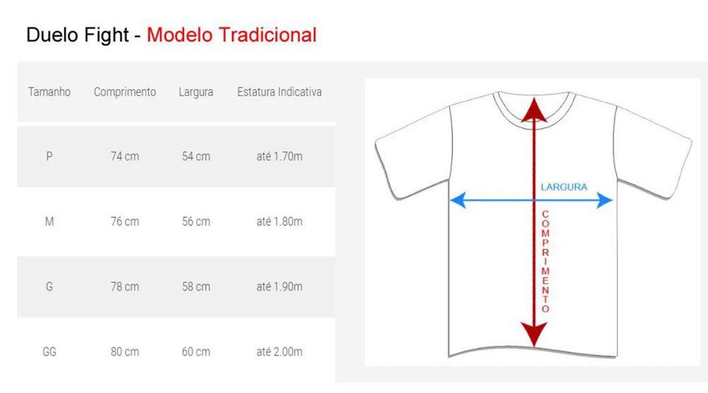 Camisa Camiseta Taekwondo Bra x Kor - Preta - Duelo Fight  - Loja do Competidor