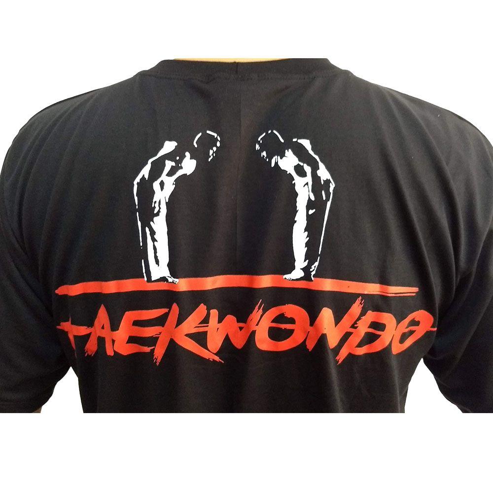 Camisa Camiseta Taekwondo - King of Kicks - Toriuk   - Loja do Competidor