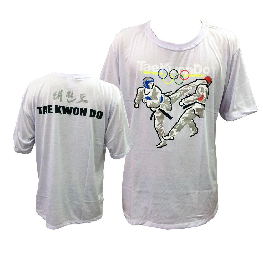 Camisa/Camiseta - Taekwondo Olimpico - Branco - Toriuk