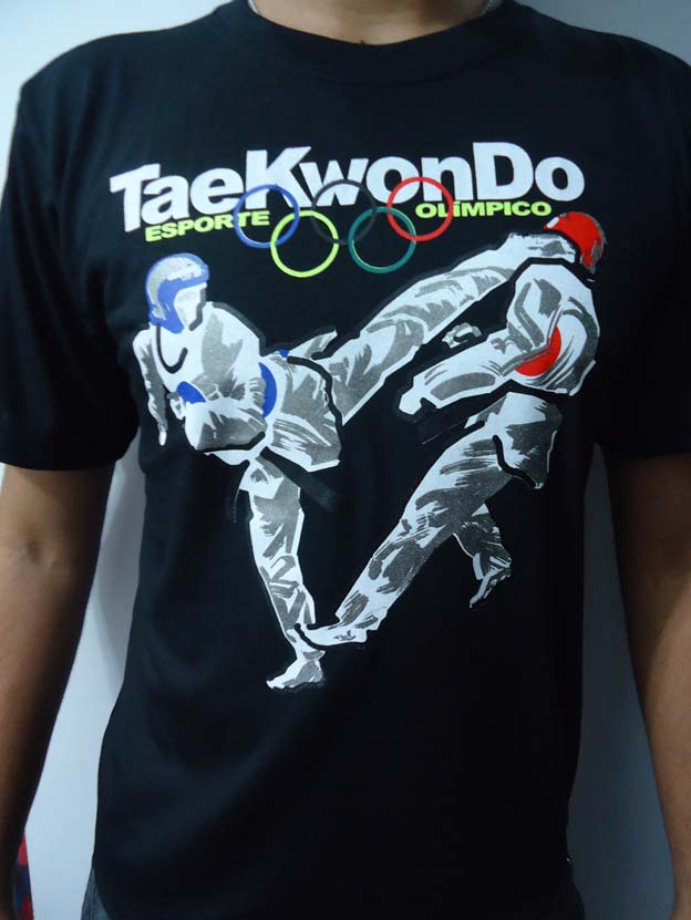 Camisa/Camiseta - Taekwondo Olimpico - Toriuk