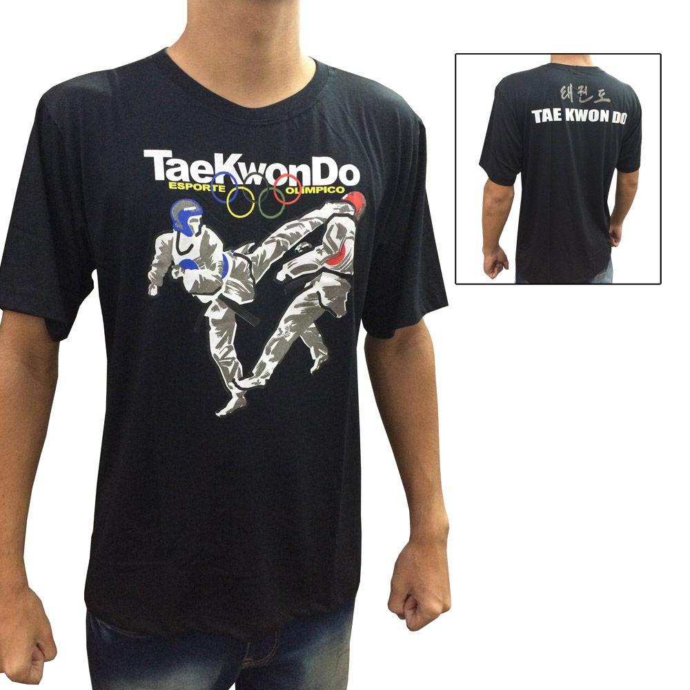 Camisa Camiseta - Taekwondo Olimpico - Toriuk