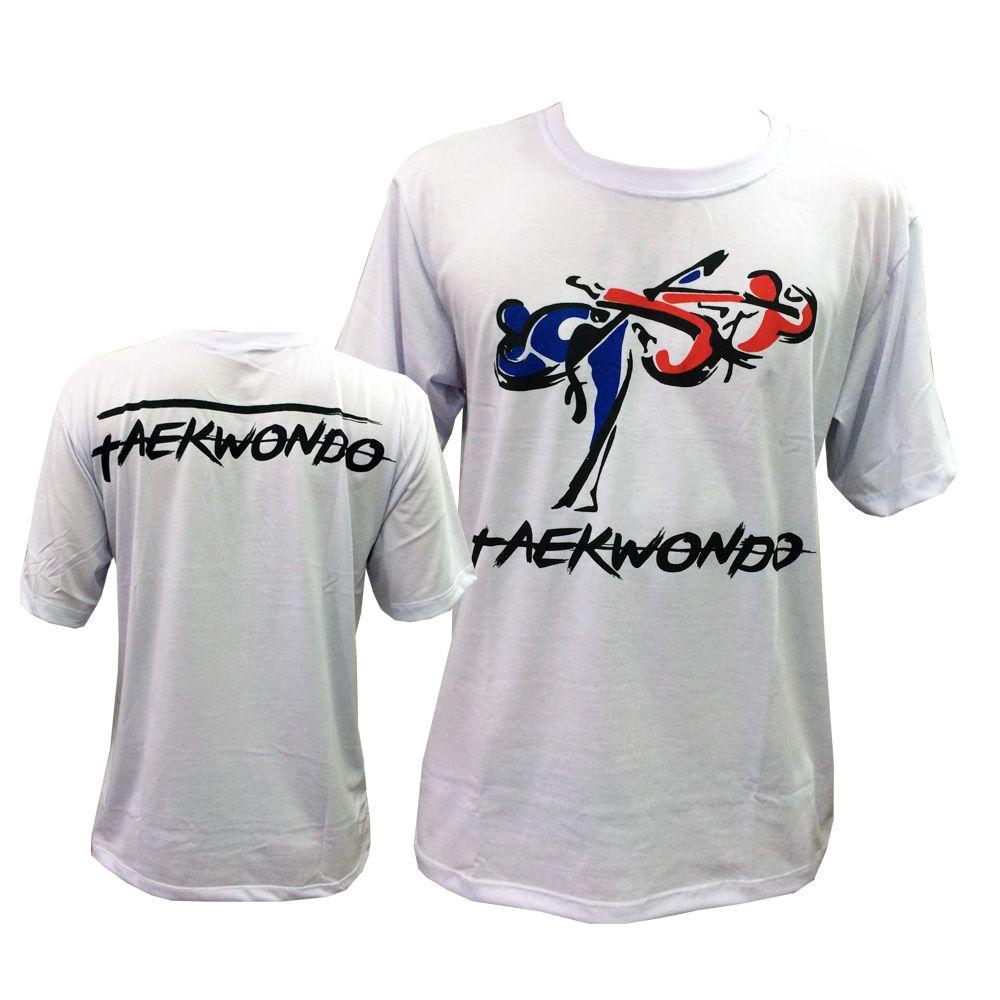Camisa Camiseta Taekwondo Korean Tigers - Branco - Toriuk