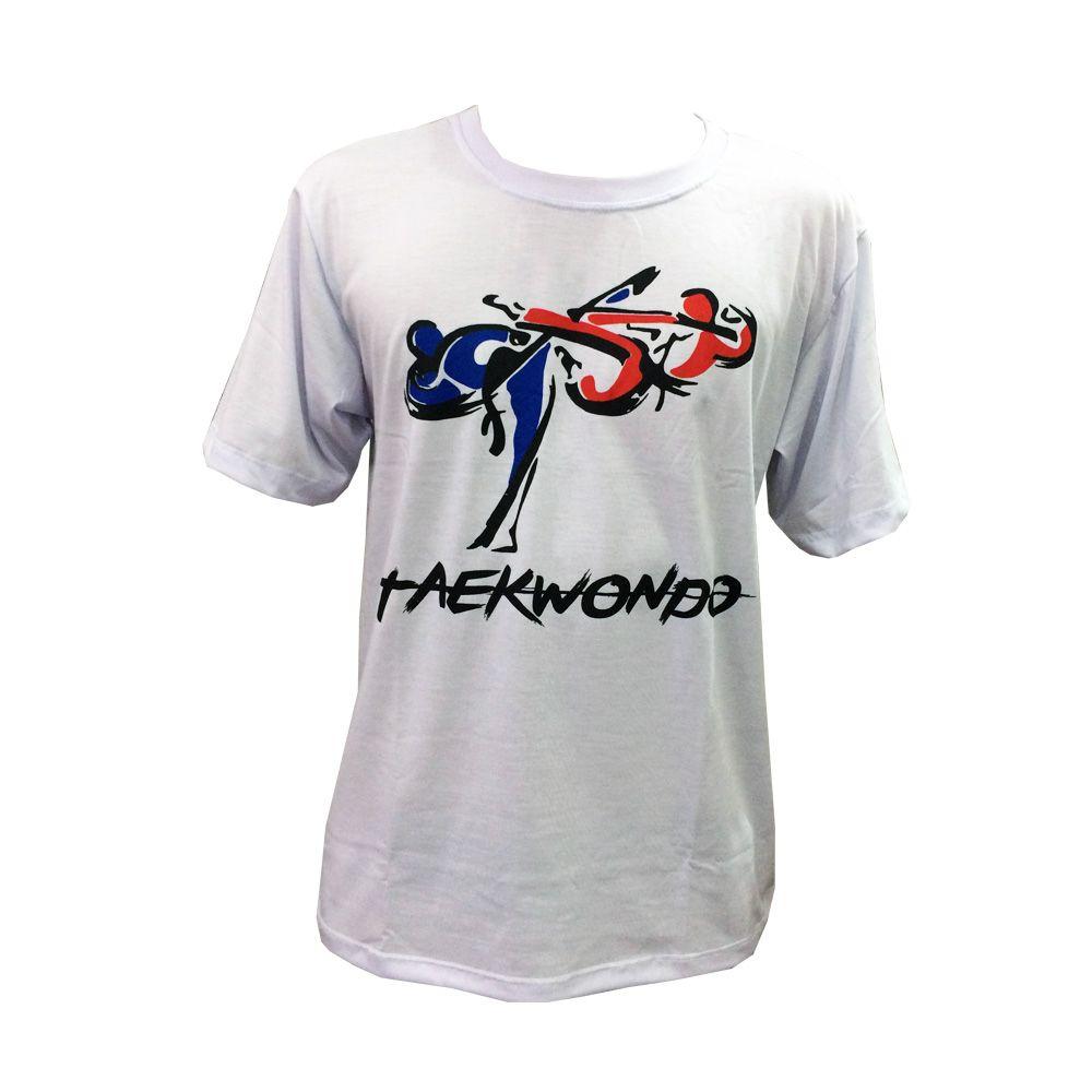 Camisa Camiseta Taekwondo Korean Tigers - Branco - Toriuk  - Loja do Competidor
