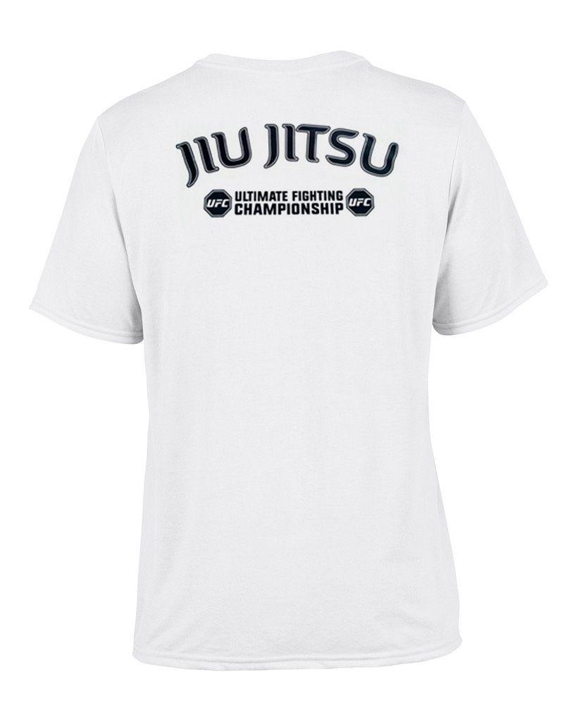 Camisa Camiseta TUF Brazilian Jiu Jitsu - Branca - UFC -  - Loja do Competidor
