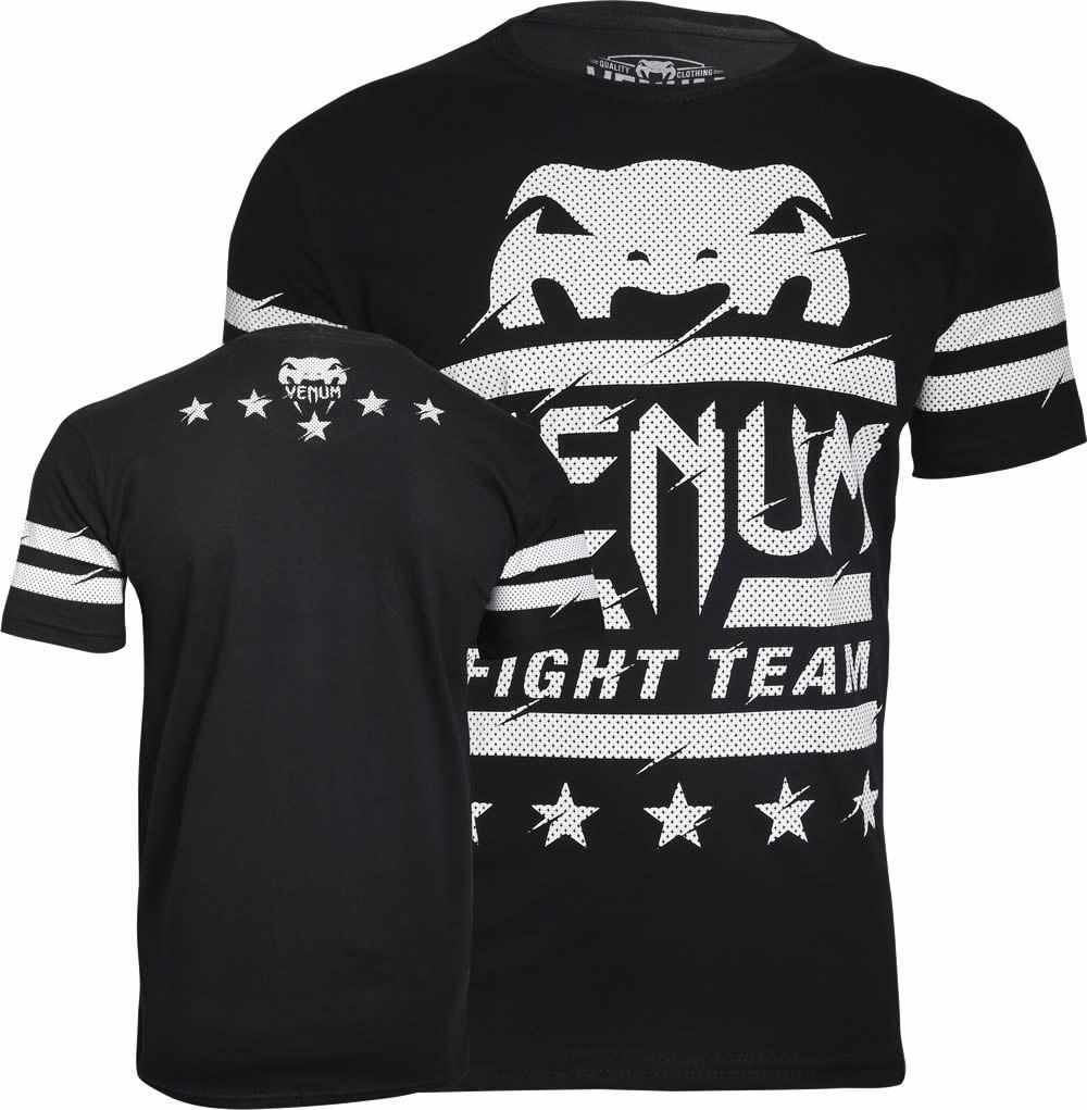 Camisa Camiseta VIP - Preta - Venum Fight