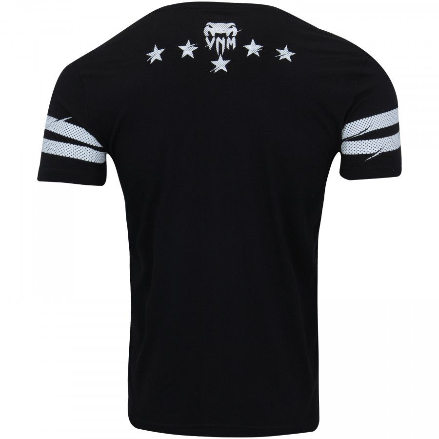 Camisa Camiseta VIP - Preta - Venum Fight  - Loja do Competidor