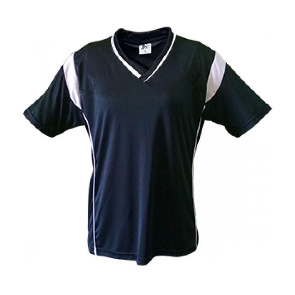 Kit com 16 Camisas Camiseta Volei Handball - Ferrara - Preto/Branco- Feminina - Kanga