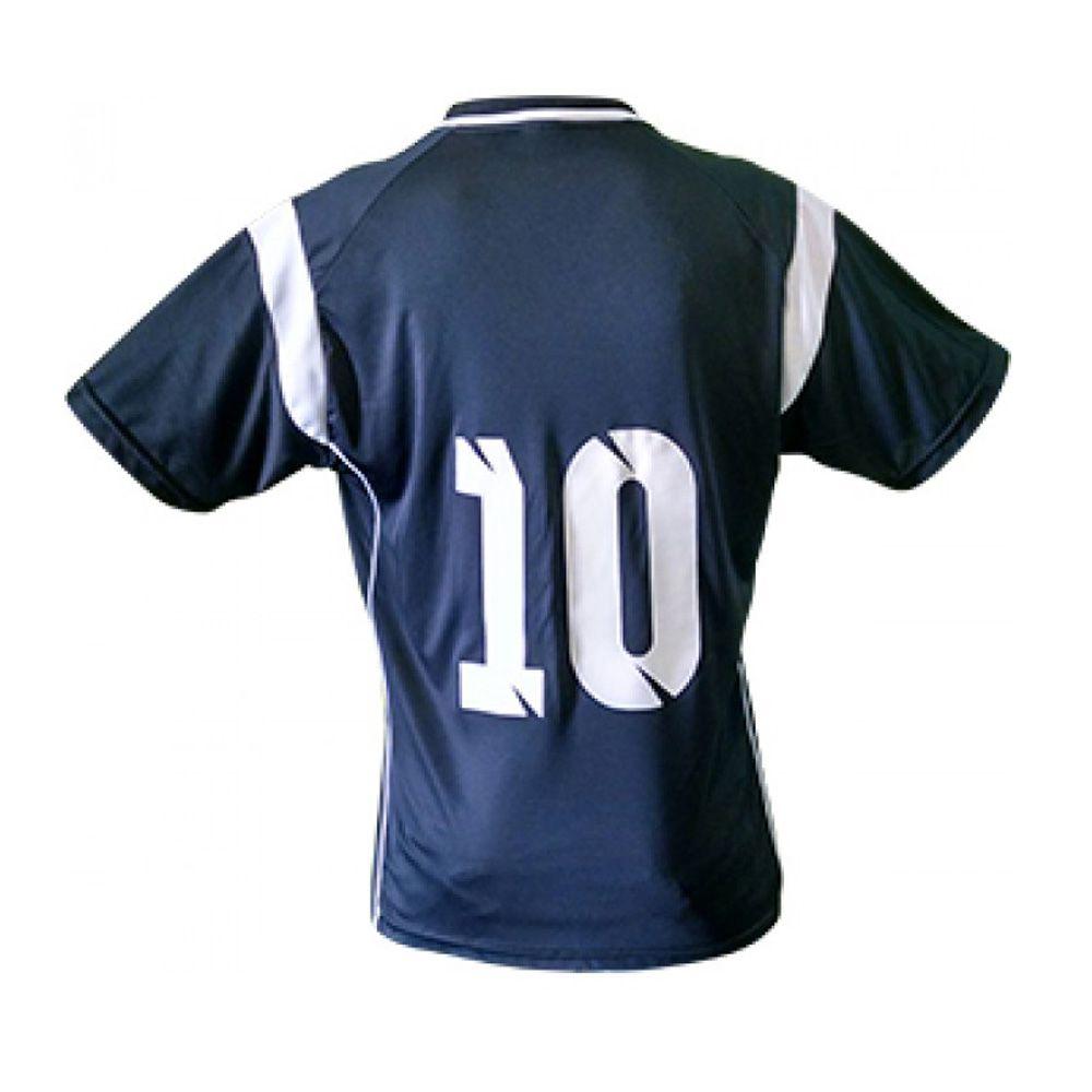 Kit com 16 Camisas Camiseta Volei Handball - Ferrara - Preto/Branco- Feminina - Kanga  - Loja do Competidor