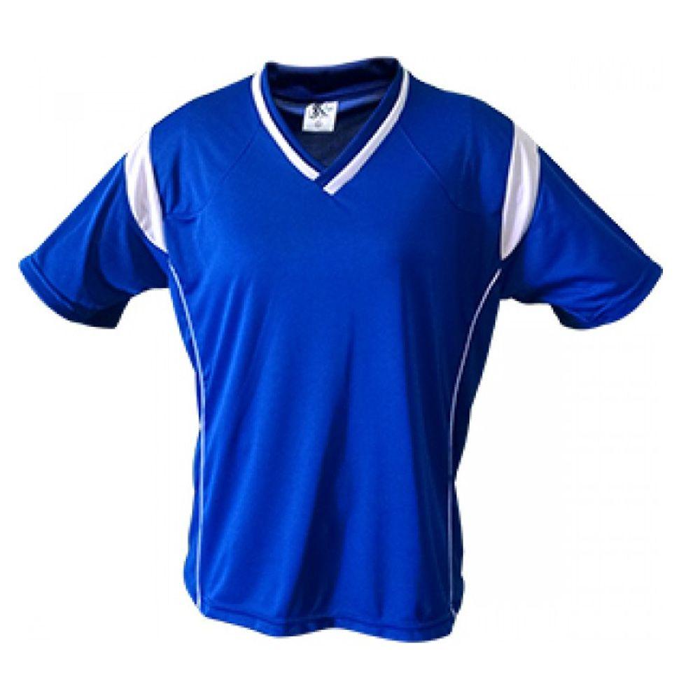 Kit com 16 Camisas Camiseta Volei Handball Ferrara - Azul/Branca - Feminina- Kanga