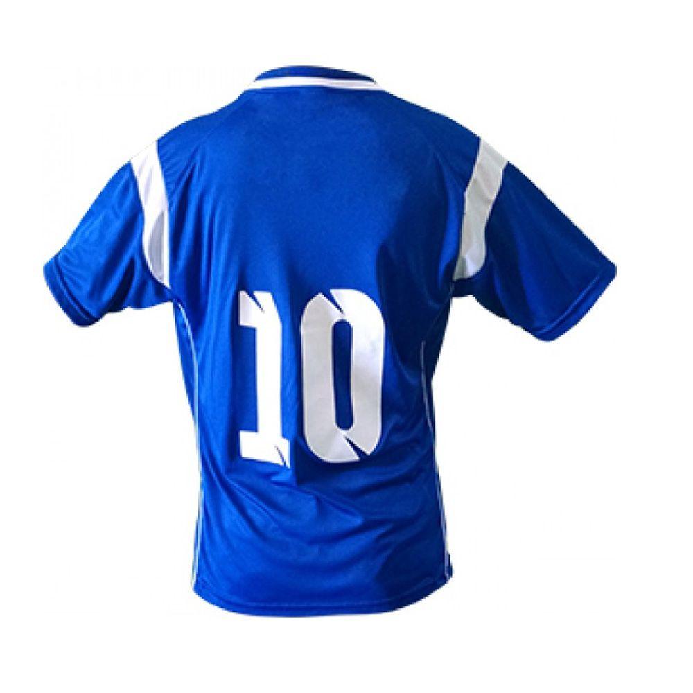 Kit com 16 Camisas Camiseta Volei Handball Ferrara - Azul/Branca - Feminina- Kanga  - Loja do Competidor
