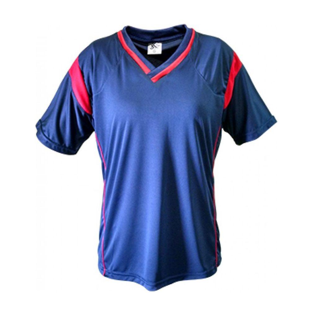 Kit com 16 Camisa Camiseta Volei Handball - Ferrara- Azul Vermelho- Feminina  - 3f5d103952a6f