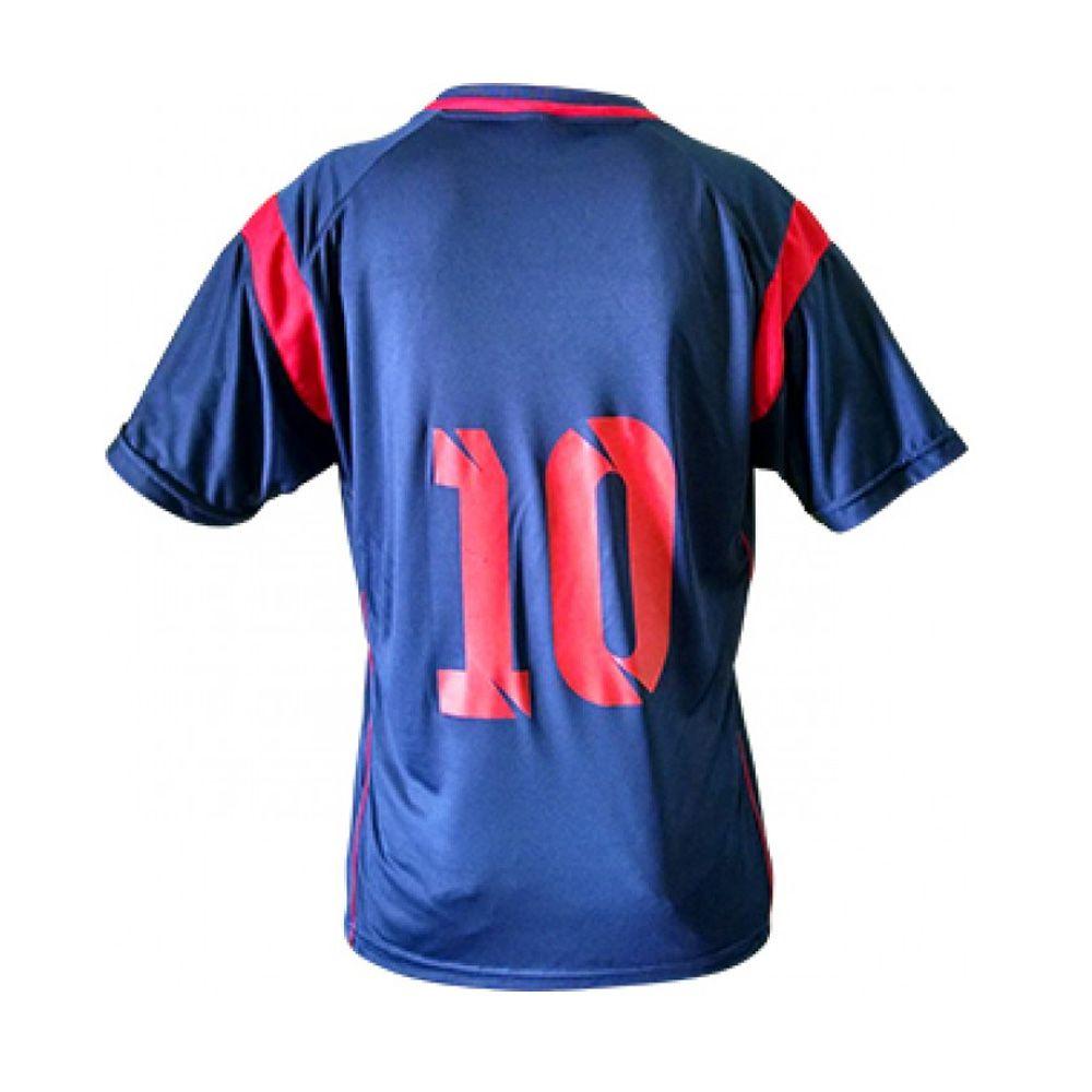 Kit com 16 Camisa Camiseta Volei Handball - Ferrara- Azul/Vermelho- Feminina - Kanga  - Loja do Competidor