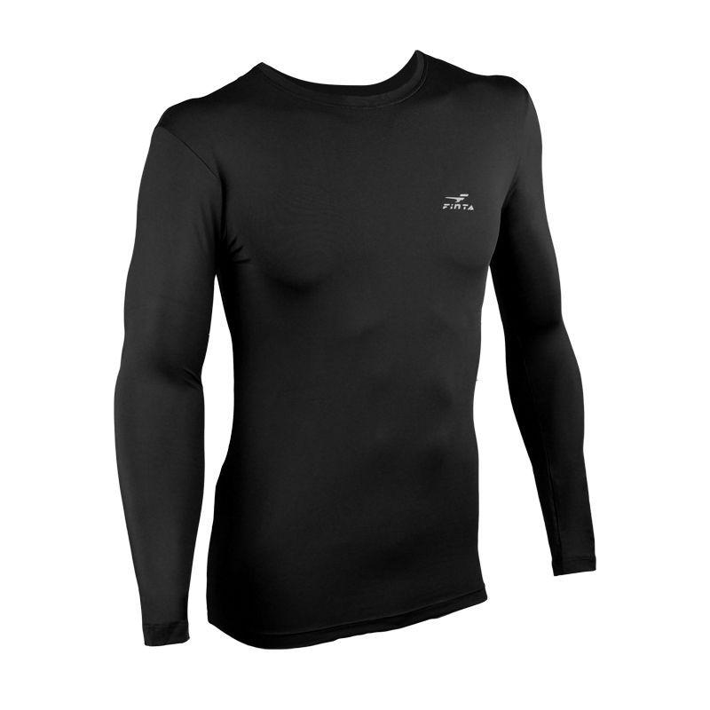 Camisa de Compressão Térmica - UV Protection 50 - Finta- Manga Longa  - Loja do Competidor