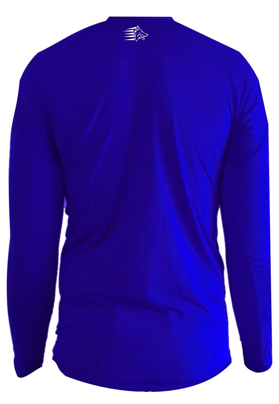 Camisa de Proteção Solar Manga Longa - UV-50+ Praia e Piscina - Azul  - Loja do Competidor