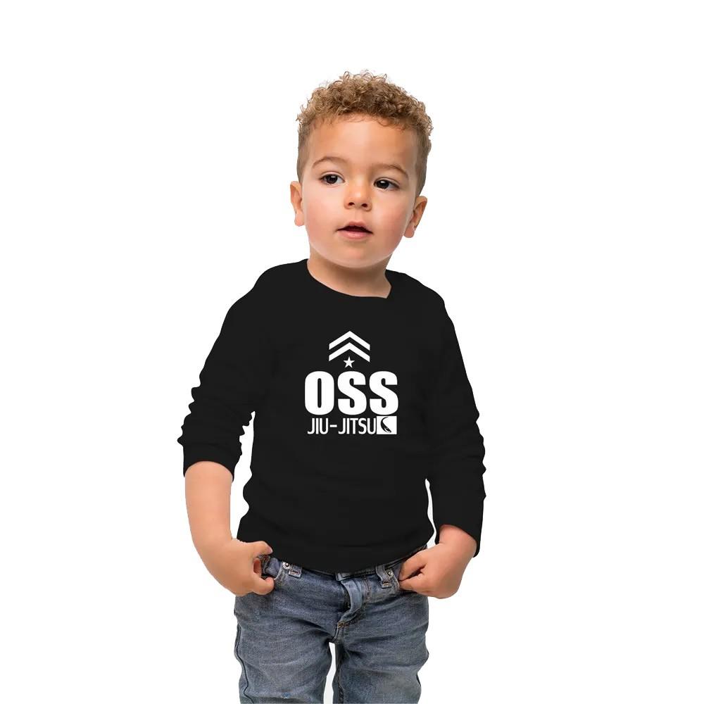 Camisa Proteção Solar UV-50+ Praia e Piscina - Jiu JItsu Oss - Infantil