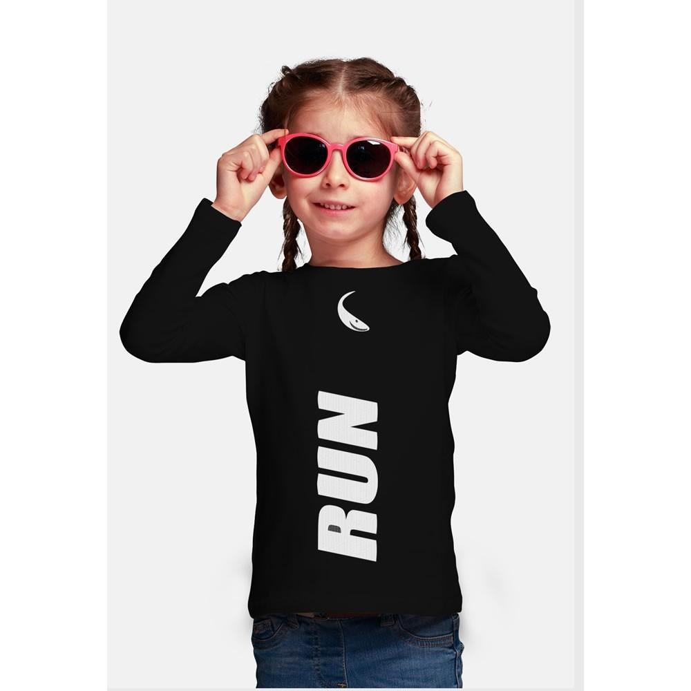 Camisa Proteção Solar UV-50+ Praia e Piscina - Peixinho - Infantil