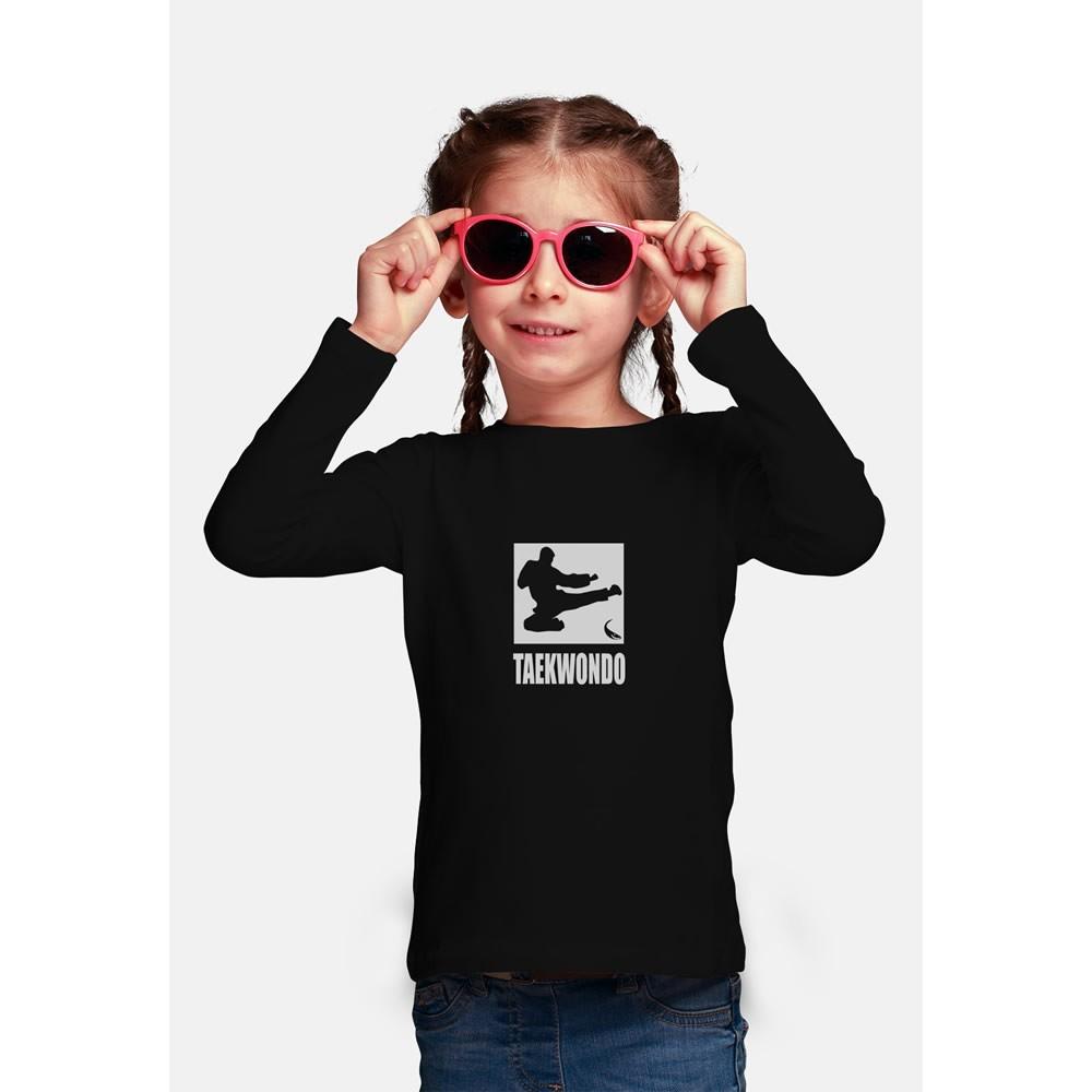 Camisa Proteção Solar UV-50+ Praia e Piscina - Taekwondo - Infantil