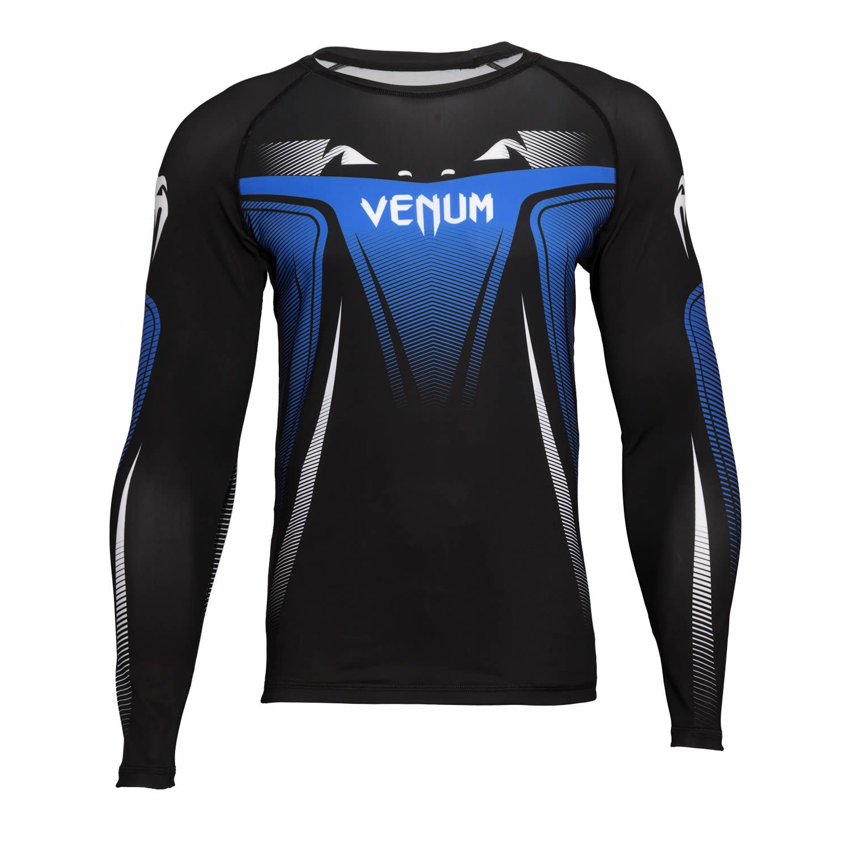 Camisa Rash Guard Lycra Manga Longa 3.0 - Azul - Venum