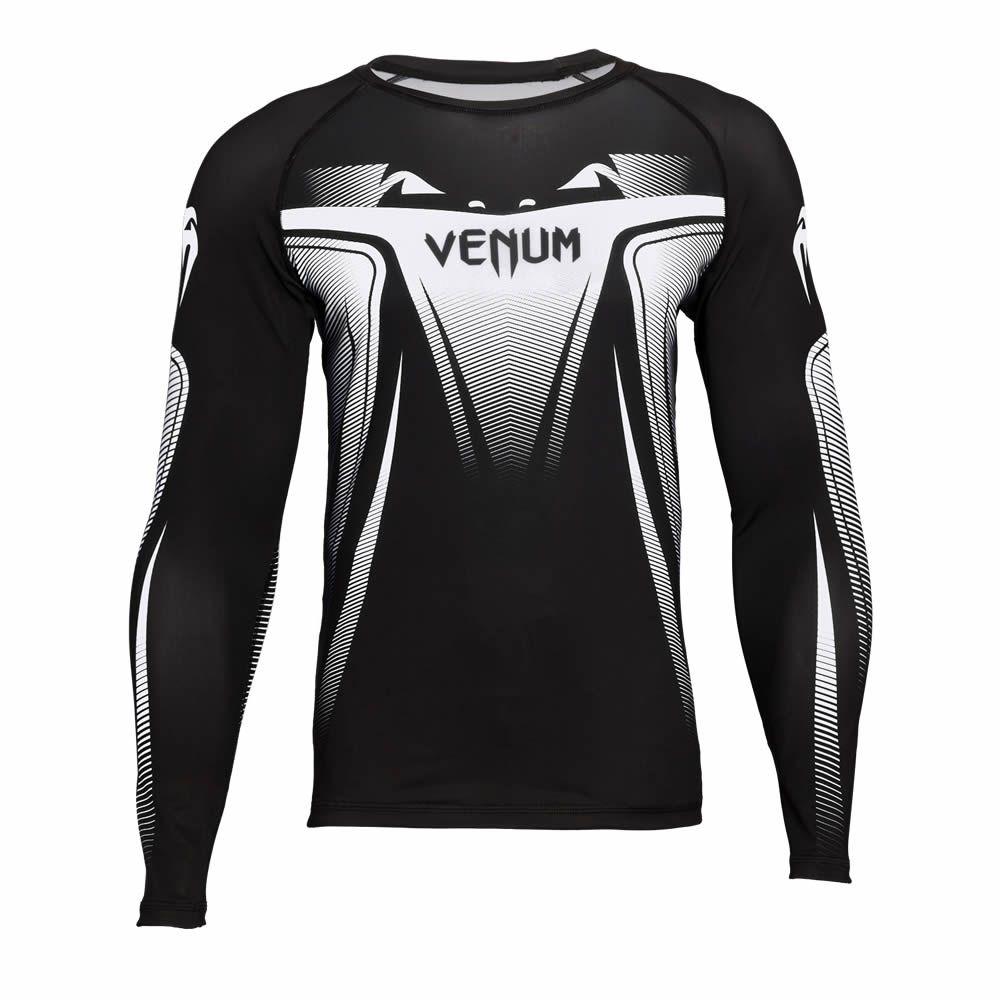 Camisa Rash Guard Lycra Manga Longa 3.0 - Black - Venum