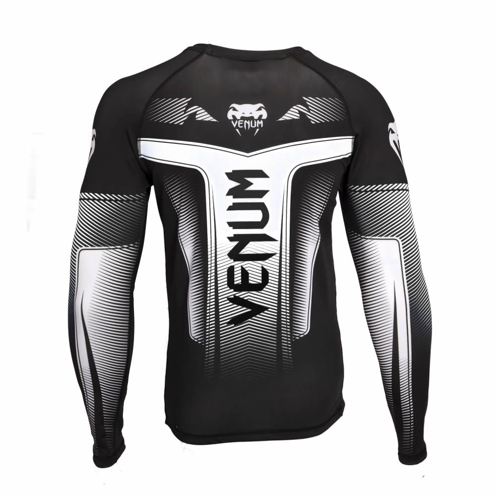 Camisa Rash Guard Lycra Manga Longa 3.0 - Black - Venum  - Loja do Competidor