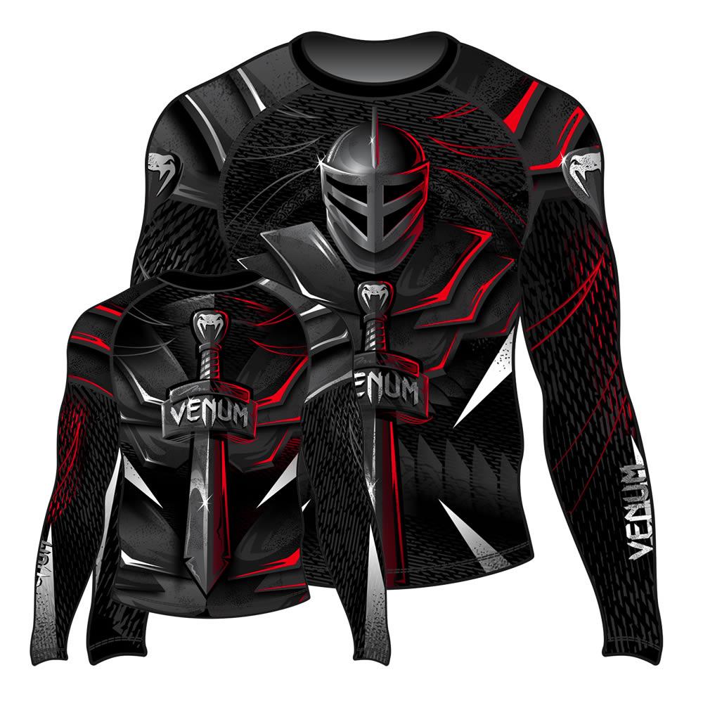 Camisa Rash Guard Lycra Manga Longa - Gladiador Sword - Venum