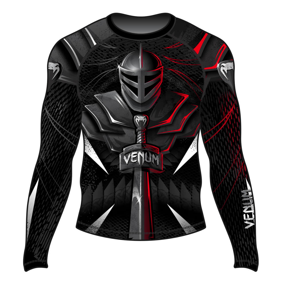 Camisa Rash Guard Lycra Manga Longa - Gladiador Sword - Venum  - Loja do Competidor