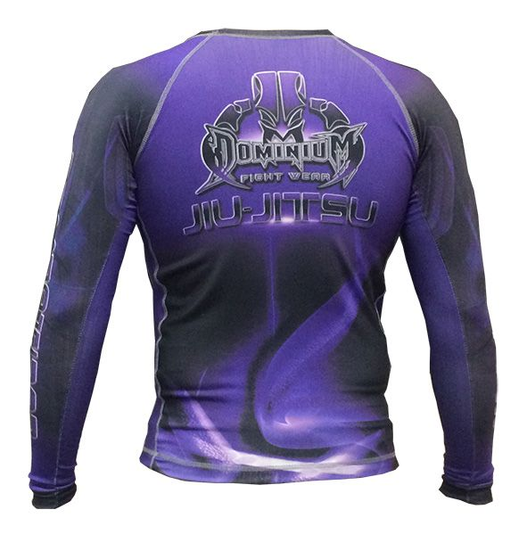 Camisa Rash Guard - Manga Longa - Roxa - 2737 - Dominium  - Loja do Competidor