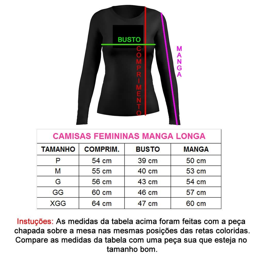 Camiseta Ciclismo Dry Fit UV-50+ - Manga Longa - Feminina   - Loja do Competidor