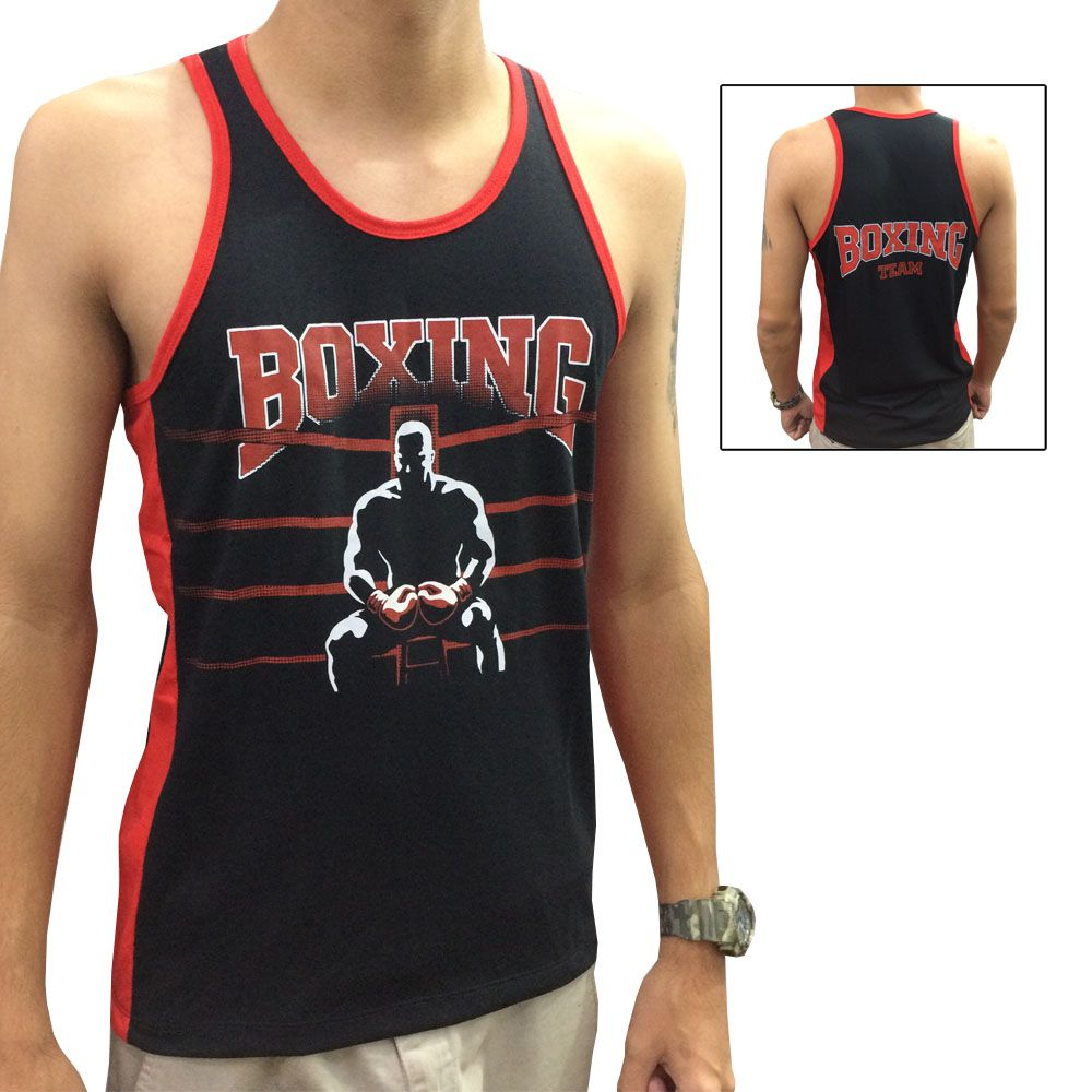 Camiseta Regata - Boxe Boxing - Toriuk -  - Loja do Competidor