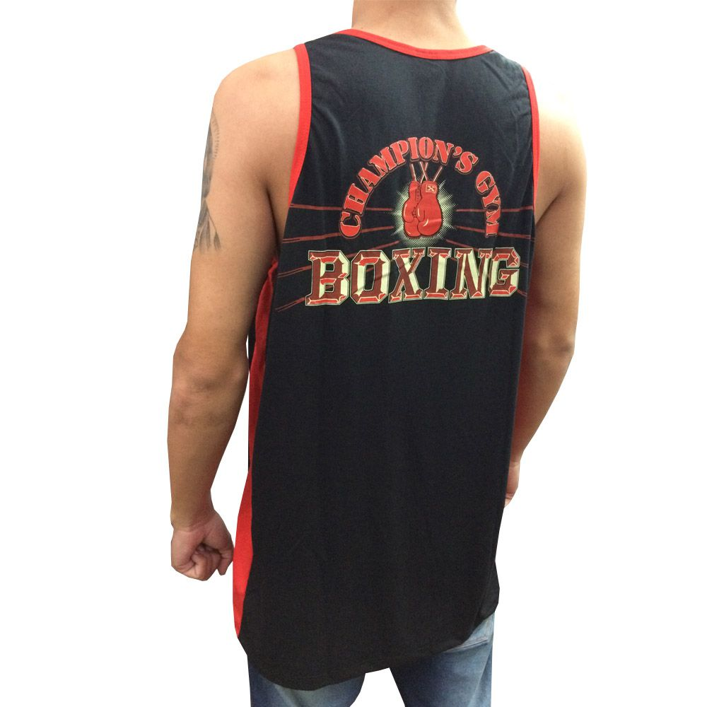 Camiseta Regata - Boxing Champions Gym - Toriuk -  - Loja do Competidor