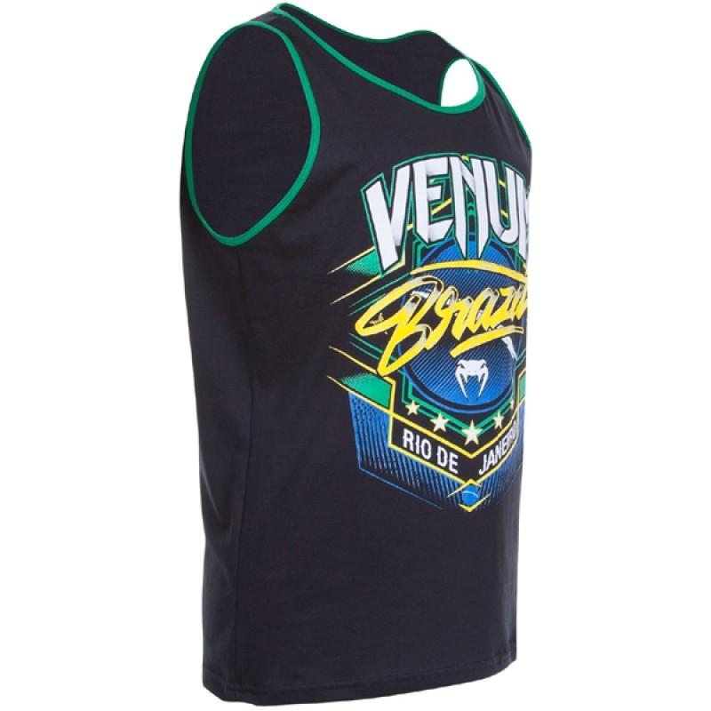 Camiseta/Regata - Carioca - Preto/Verde - Venum