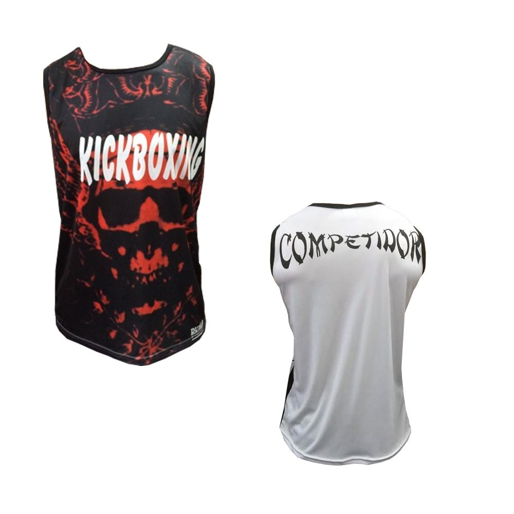 Camiseta/Regata - Kickboxing- Blood - Duelo Fight .