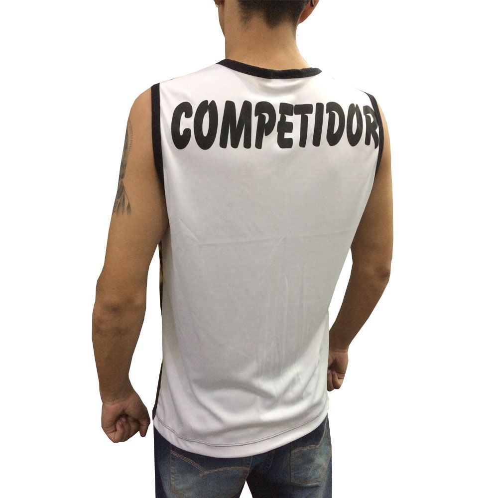 Camiseta Regata - Kickboxing in Flames - Duelo Fight  - Loja do Competidor