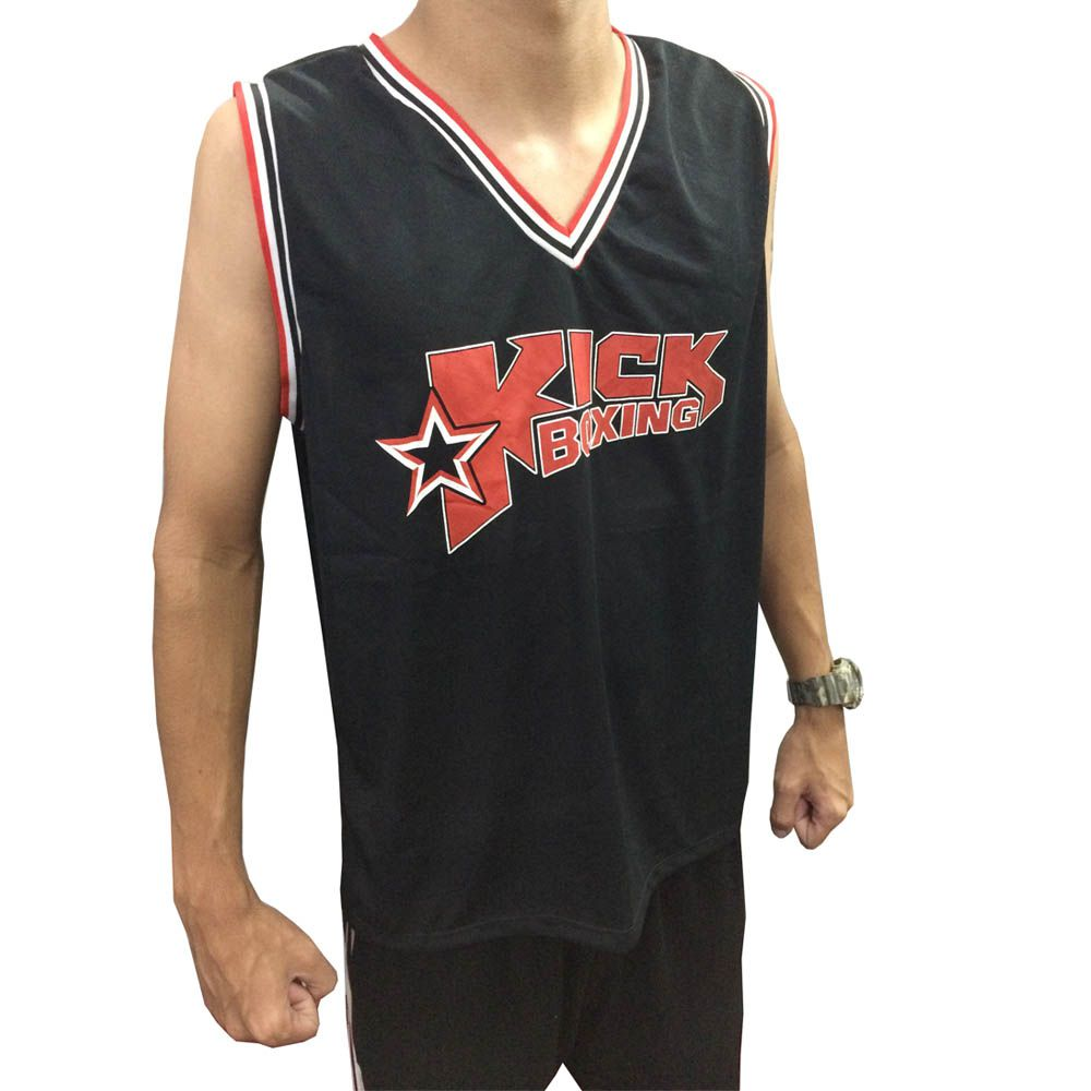 Camiseta Regata - Kickboxing- Striker - Duelo Fight -  - Loja do Competidor