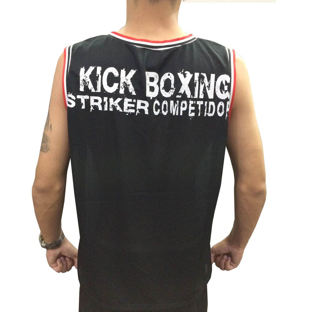 Camiseta Regata - Kickboxing- Striker - Duelo Fight -  - Loja do Competidor