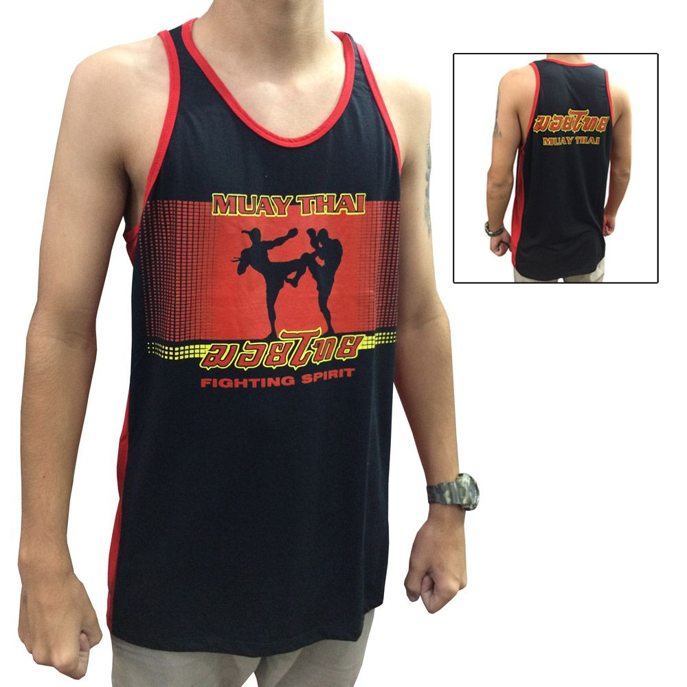 Camiseta Regata Muay Thai Fighting Spirit - Toriuk