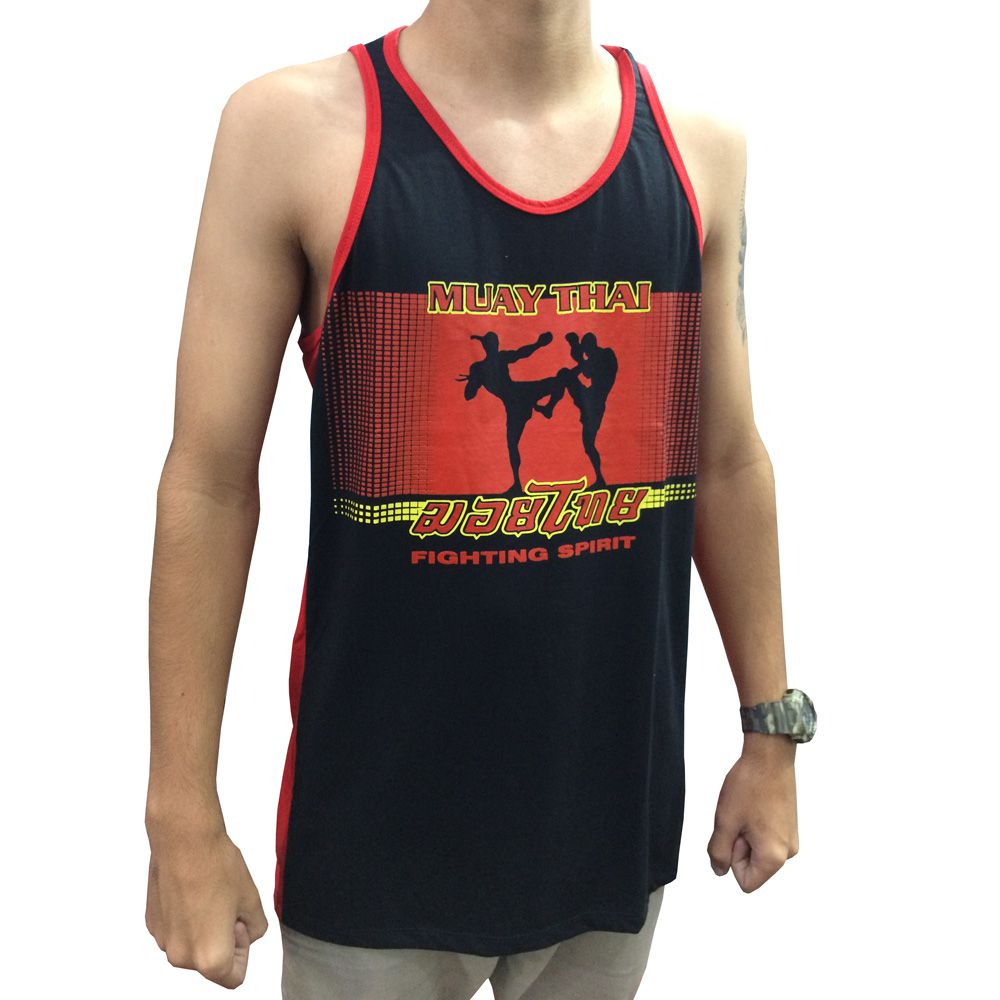 Camiseta Regata Muay Thai Fighting Spirit - Toriuk - Loja do Competidor