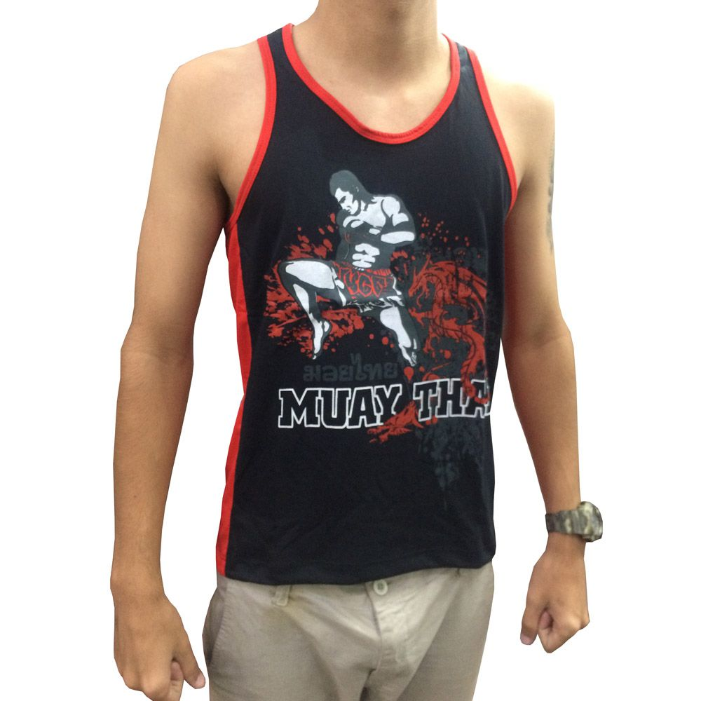 Camiseta/Regata - Muay Thai Jumping Knee - Toriuk . - Loja do Competidor