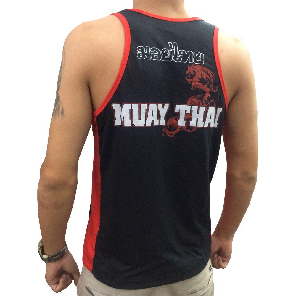 Camiseta Regata - Muay Thai Jumping Knee - Toriuk  - Loja do Competidor