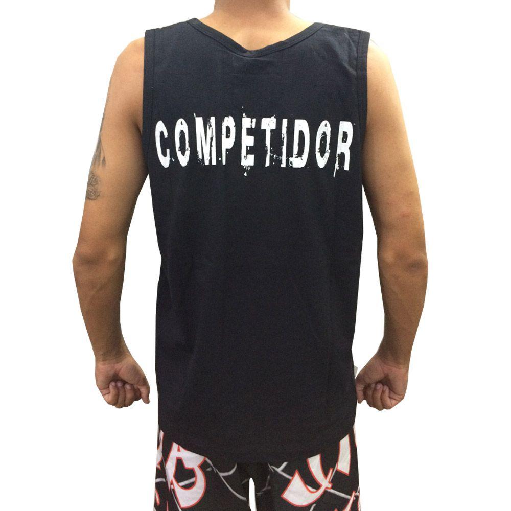 Camiseta Regata Muay Thai Khao Trong - Preta - Duelo Fight  - Loja do Competidor