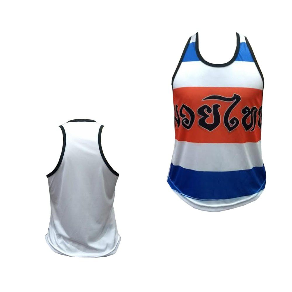 Camiseta Regata Muay Thai Thailand Colors - Ferminina Duelo Fight -
