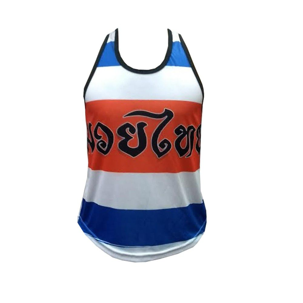 Camiseta Regata Muay Thai Thailand Colors - Ferminina Duelo Fight -  - Loja do Competidor