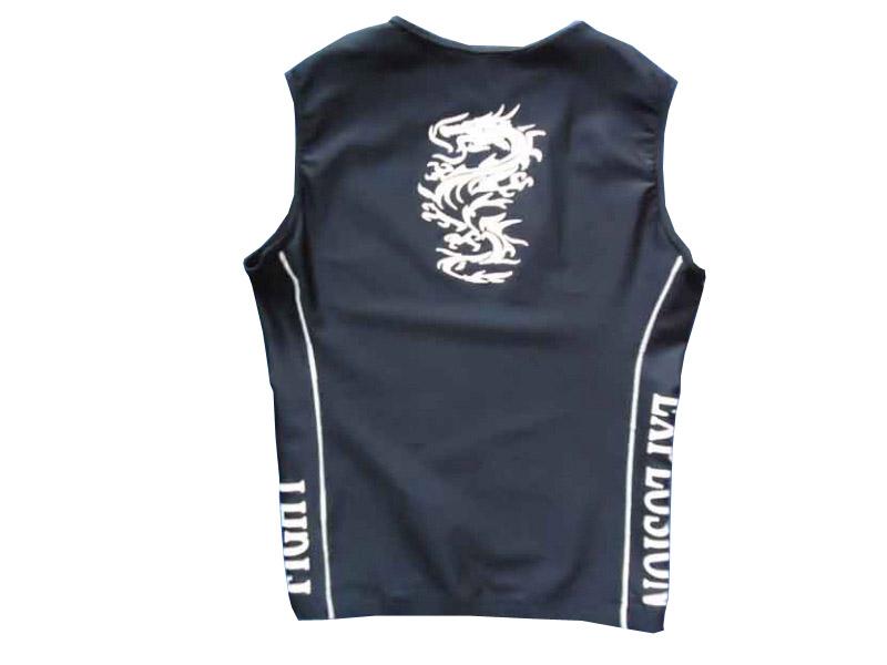 Camiseta/ Regata Rash Guard Explosion- Sem Manga - Preta  - Loja do Competidor
