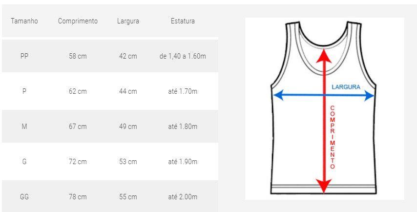 Camiseta Regata Taekwondo Olímpico - Preto/Verm - Toriuk -  - Loja do Competidor